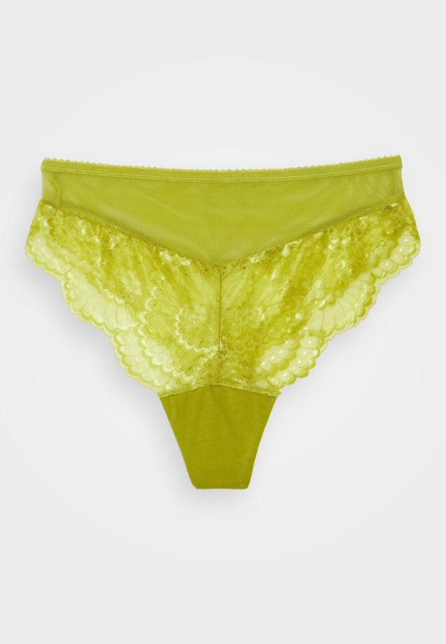 DELILAH HIGH WAIST BRIEF - Slip - citron