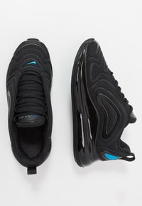 Nike Sportswear - AIR MAX 720 - Sneakers basse - black/blue hero/hyper royal/cool grey - 0