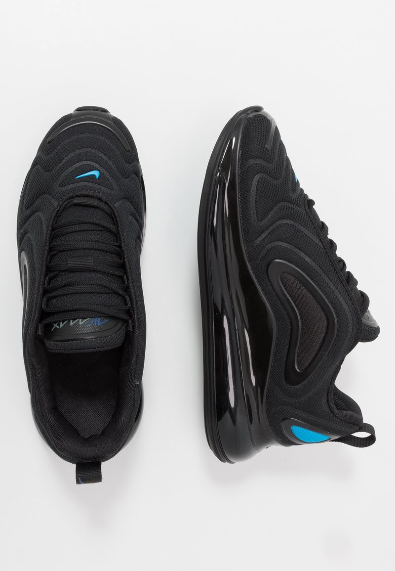 Nike Sportswear - AIR MAX 720 - Sneakers basse - black/blue hero/hyper royal/cool grey