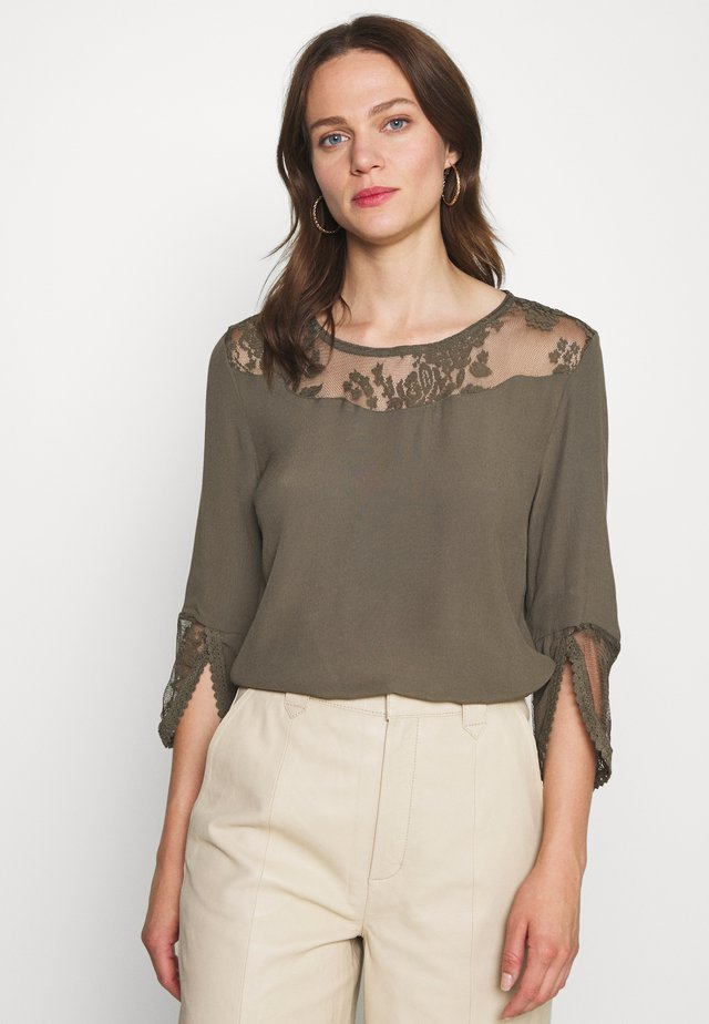 KALANIE BLOUSE - Pusero - sea turtle