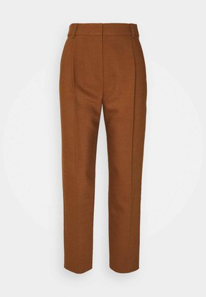 Trousers - pottery brown