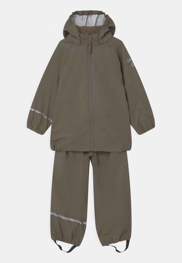 BASIC RAINWEAR SET UNISEX - Regenbroek - sea turtle