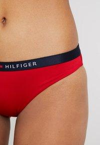 Tommy Hilfiger - CORE SOLID LOGO CLASSIC - Bikini bottoms - tango red - 4
