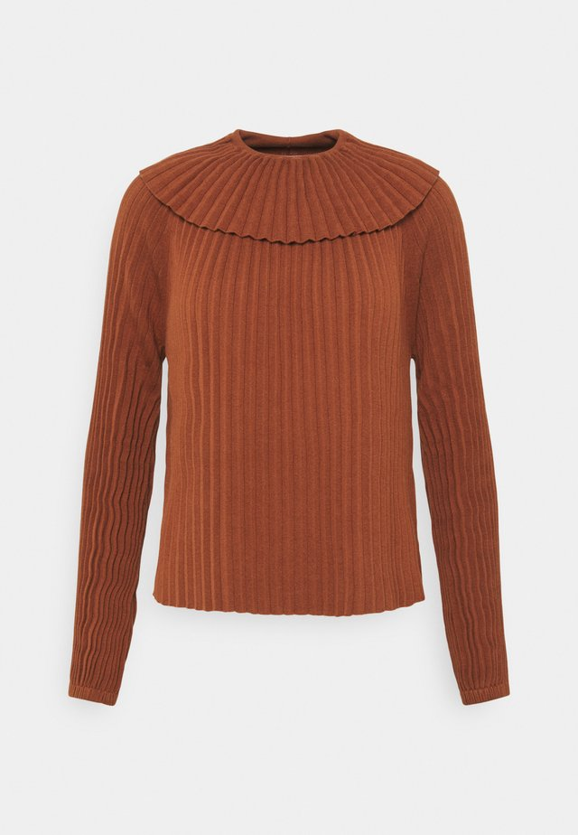 Maglione - clay brown