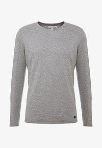 heather grey melange