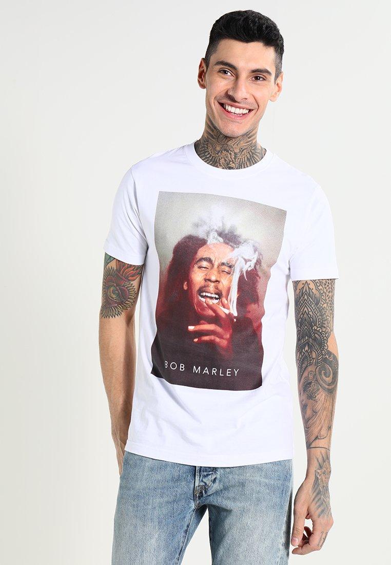 Herren BOB MARLEY SMOKE - T-Shirt print