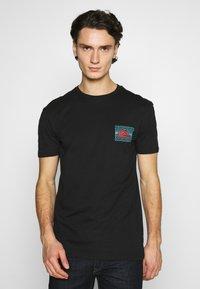 Quiksilver - SOUND WAVES - Print T-shirt - black - 0