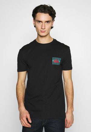 SOUND WAVES - Print T-shirt - black