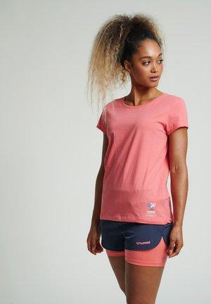 SCARLET - Basic T-shirt - sugar coral