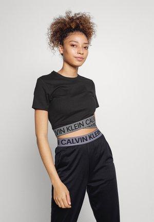 Printtipaita - black/bright white