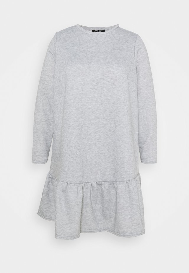 DROP HEM DRESS - Hverdagskjoler - grey niu