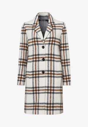 MANTEL - Classic coat - creme varied