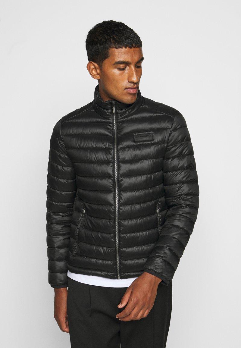 KARL LAGERFELD - JACKET - Light jacket - black
