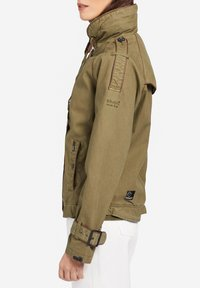 khujo - STACEY - Light jacket - khaki - 3