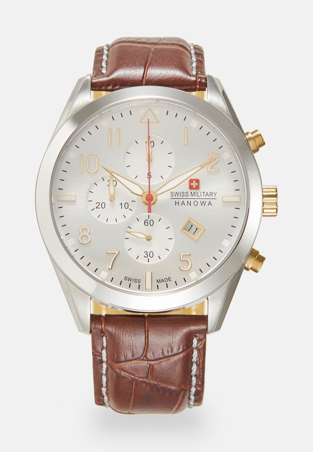 HELVETUS - Chronograph watch - silver-coloured