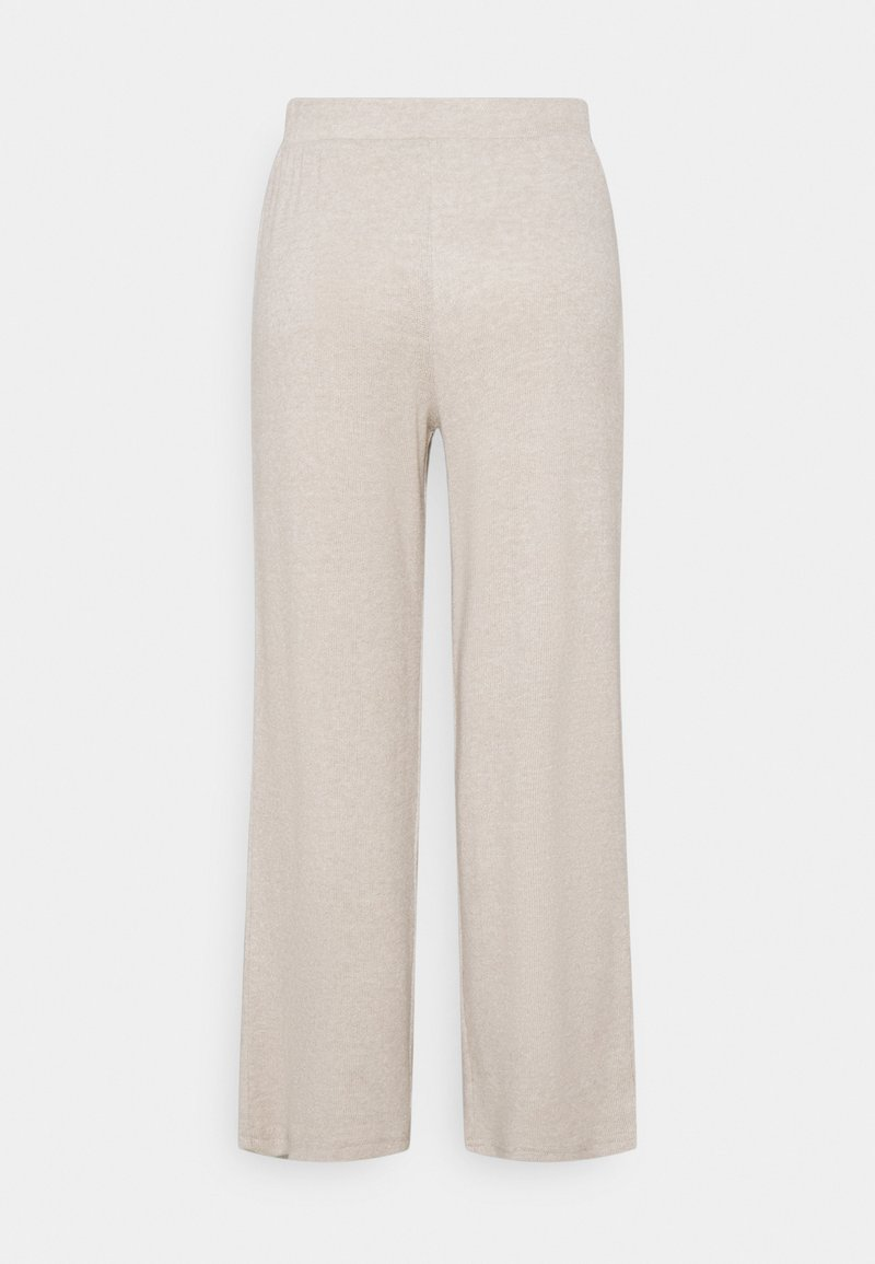 Pieces Petite - PCLEODA WIDE PANT - Trousers - birch/melange