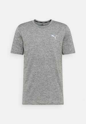 RUN FAVORITE HEATHER TEE - T-shirt - bas - medium gray heather