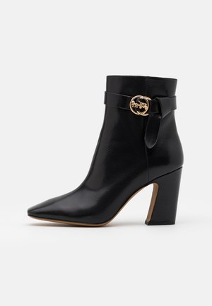 TERI - High heeled ankle boots - black