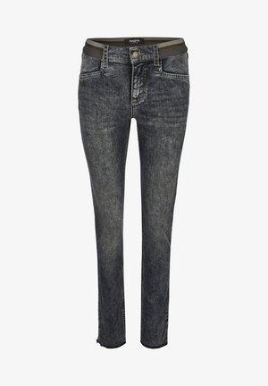 MIT ELASTISCHEM BUND - Jeans Skinny Fit - grey