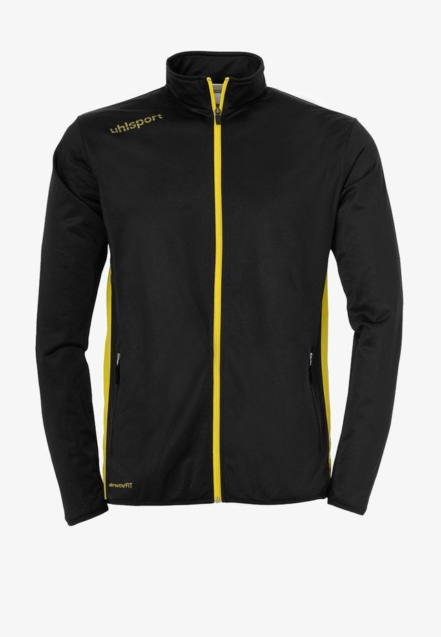 ESSENTIAL CLASSIC - Trainingsanzug - schwarz/gelb