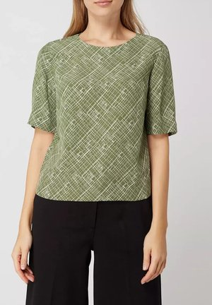 Blouse - garden green