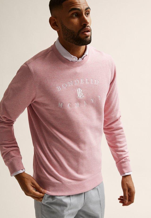 JEREMY  - Collegepaita - pink melange
