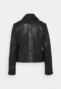 rag & bone - MACK JACKET - Leather jacket - black - 1