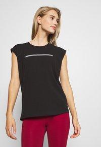 Even&Odd active - Camiseta de deporte - black - 0