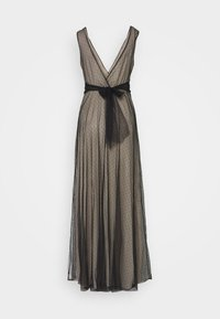 WAL G. - OVER LAY DRESS - Vestido de fiesta - black/nude - 1