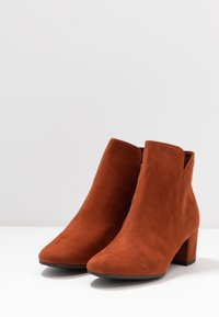 Tamaris - WOMS - Ankle boots - brandy - 4
