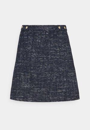 SKIRT FALKA - Mini skirt - dark blue