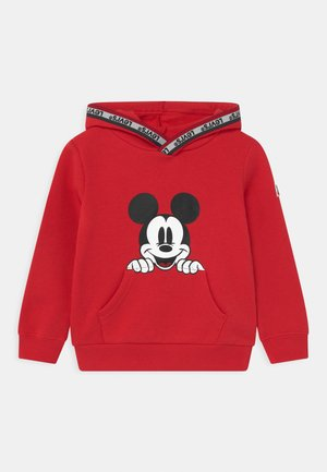 MICKEY MOUSE POCKET HOODIE UNISEX - Hoodie - super red