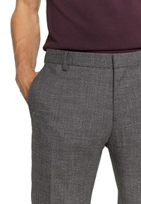 Tommy Hilfiger Tailored - SLIM FIT SEPARATE PANT - Suit trousers - grey - 6