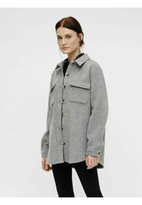 Object - OBJVERA - Summer jacket - medium grey melange - 0