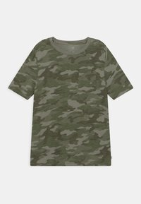 GAP - BOY POCKET TEE - Print T-shirt - green - 0