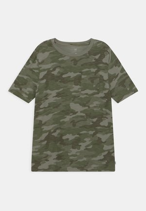 BOY POCKET TEE - T-shirt con stampa - green