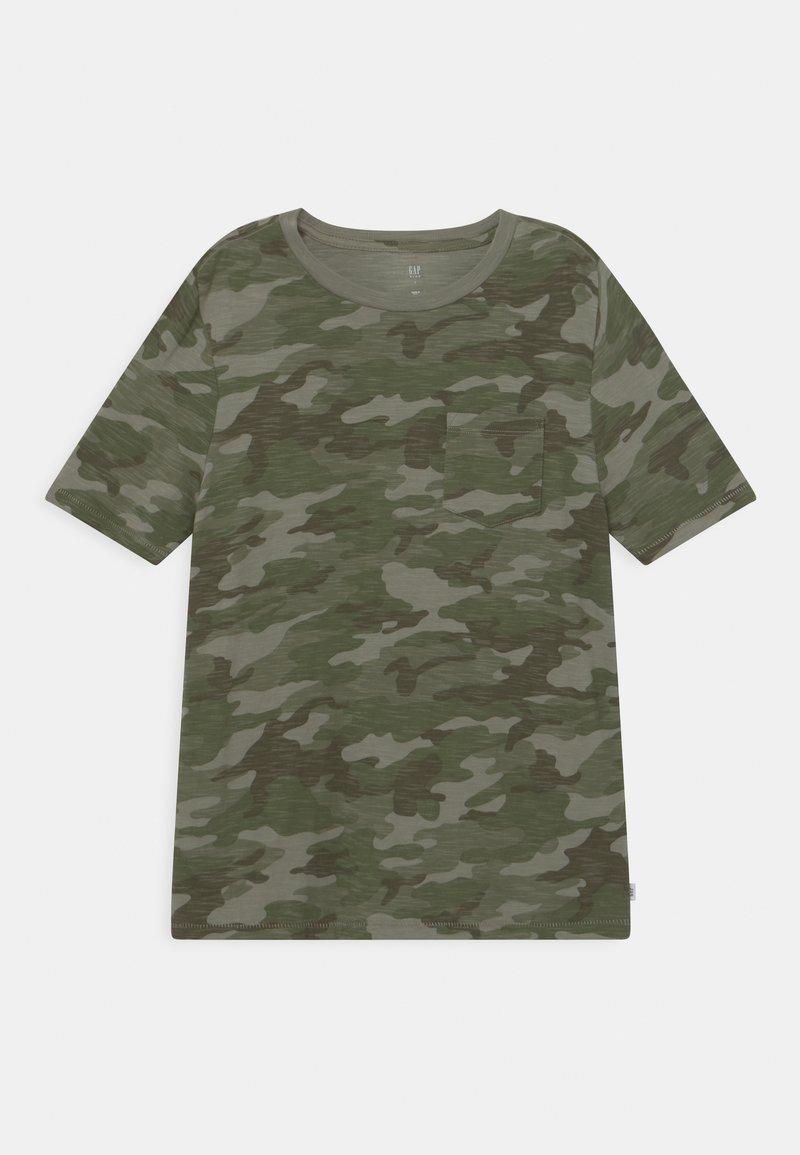 GAP - BOY POCKET TEE - Print T-shirt - green
