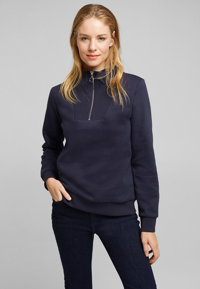 TROYER - Sweater - navy