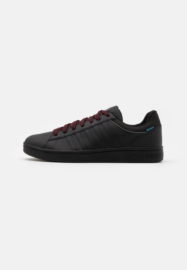 COURT HYDRO - Trainers - black/charcoal