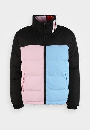 REVERSIBLE BLOCK PUFFER - Winter jacket - multicolor
