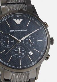 Emporio Armani - Chronograph watch - gunmetal - 3