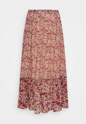 CARRIE - Maxi skirt - wild rose