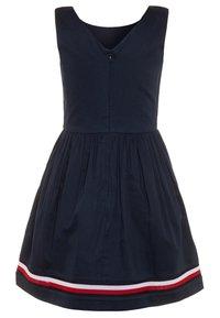 Tommy Hilfiger - GLOBAL STRIPE TAPE DRESS  - Denní šaty - blue - 1