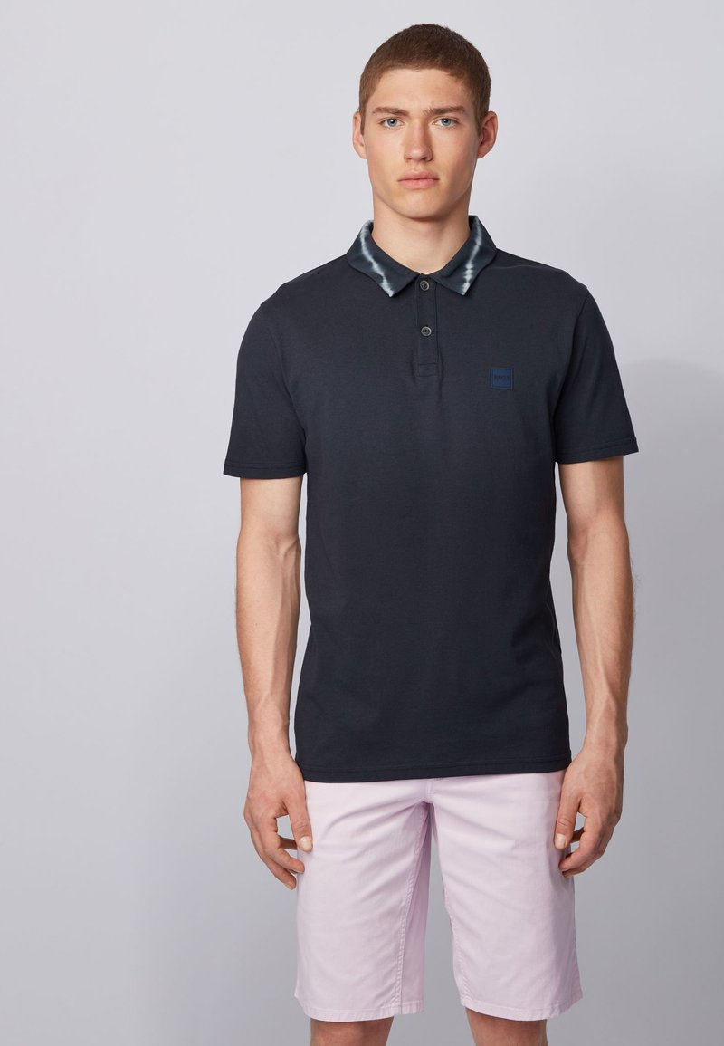 BOSS - PEDYE - Poloshirt - dark blue