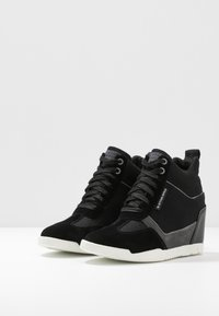 G-Star - BOXXA WEDGE - Høye joggesko - black - 4