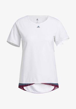 HEAT.RDY PRIME TRAINING T-SHIRT - Print T-shirt - white
