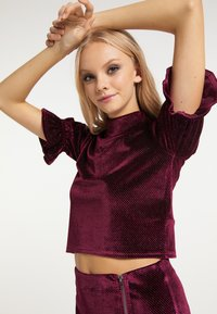 myMo at night - Blouse - bordeaux - 3