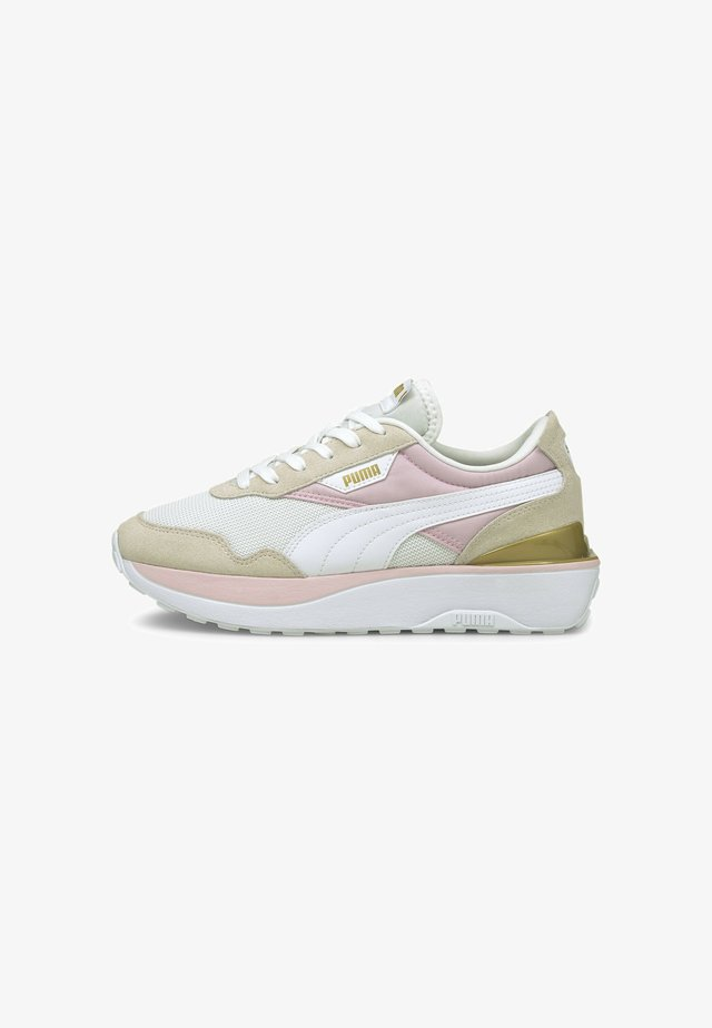 CRUISE RIDER SILK ROAD - Sneakers laag - pearl-puma white-pink lady