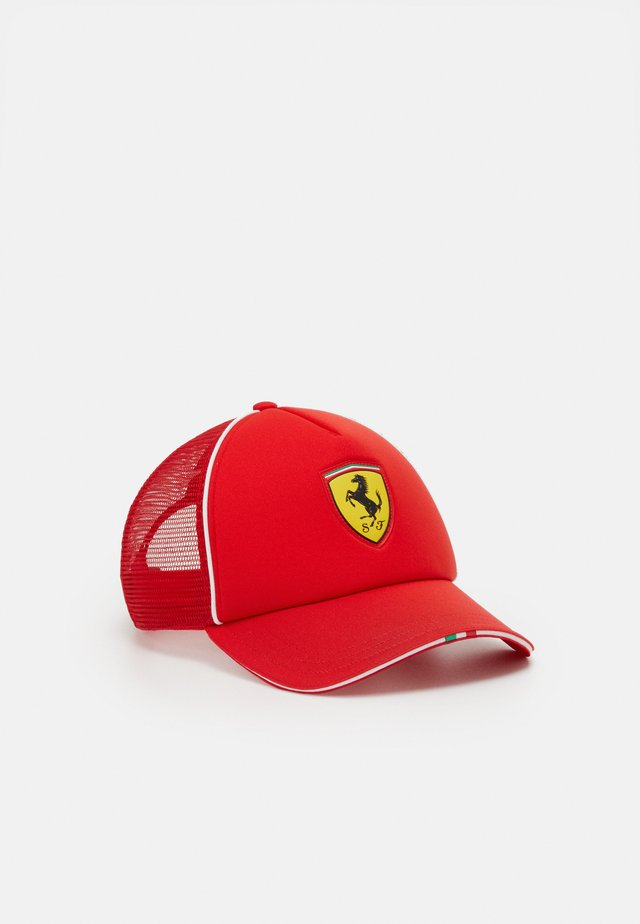 FERRARI FANWEAR TRUCKER - Cap - rosso corsa