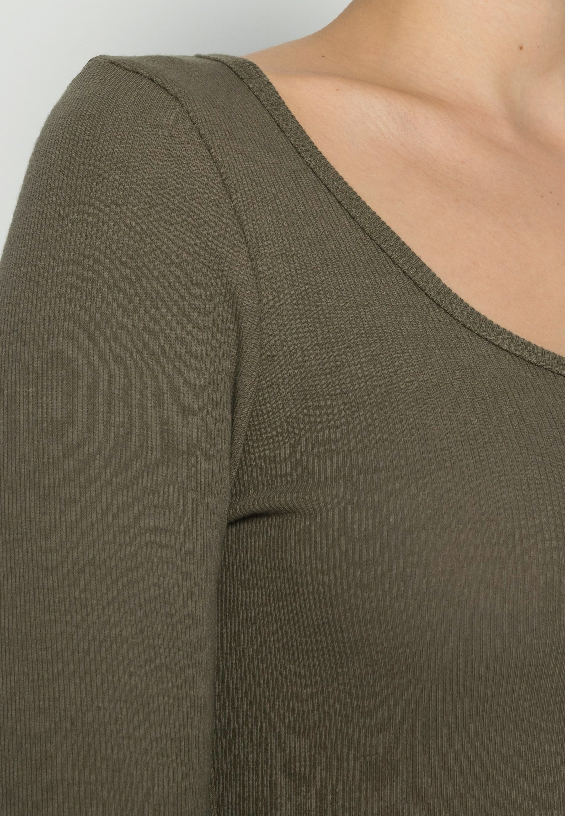 Women SLFHEIDI SCOOP NECK - Long sleeved top